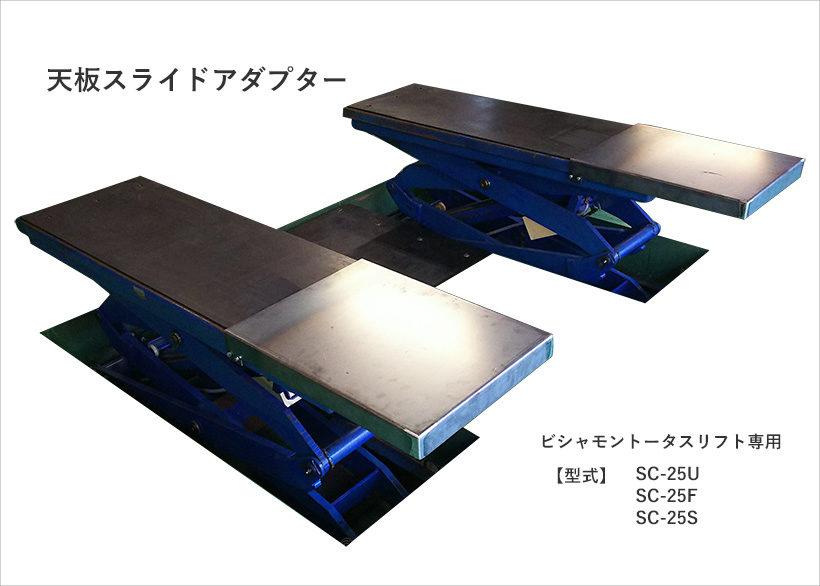 天板スライドアダプター