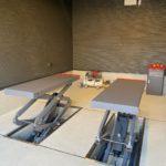 広島県 オリジナルリフト「LMS-301N」  納品・設置(ドリームガレージ)